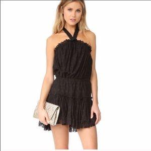 Black halter Misa Los Angelos Dress